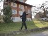 Leider existiert der Lattenzaun nicht mehr, über den Erwin Peter jeweils runter bis zum Restaurant Sonne lief...