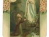 Ein Andenken an die Einweihung der Lourdesgrotte im Jahr 1911.