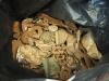 23 Kilogramm Metallabfälle an einem einzigen Tag